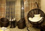 Location vacances Pékin - Shiyu Round Bed Theme Apartment-3