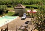Location vacances Savignac-les-Eglises - Holiday home Villa Rosa-4