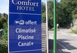 Hôtel Sassenage - Comfort Hotel Grenoble Saint Egreve-4