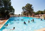 Camping avec Parc aquatique / toboggans Menton - Camping La Pierre Verte-1