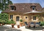 Location vacances Monpazier - Holiday Home St. Avit Riviere with a Fireplace 01-1