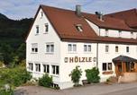 Hôtel Süßen - Landgasthof Hölzle-2