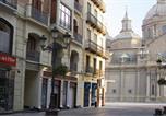 Hôtel La Puebla de Alfindén - Apartamentos Sabinas Alfonso