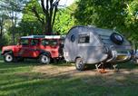 Camping avec Site nature Meyrieu-les-Etangs - Camping Les plages de l'Ain-2