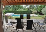 Location vacances Saint-Paul-en-Forêt - Holiday Home Bagnols en Foret with Fireplace I-3