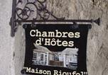 Location vacances Panossas - Maison Rioufol-3