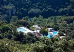 Camping avec Site nature Gard - Domaine de La Sablière-1