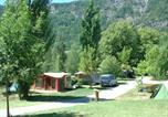 Camping en Bord de rivière Puget-Théniers - Camping-Gites Le Prieuré-3