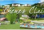 Camping avec Piscine Lot - Camping Les Chenes Clairs-1