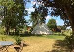 Camping avec WIFI Seillac - L'Escale des Châteaux de la Loire-1