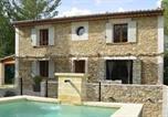 Location vacances Baron - Holiday Home Montèze et Coustadas-2