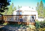 Villages vacances Redmond - Bend-Sunriver Camping Resort Wheelchair Accessible Yurt 13-2