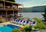 Hôtel Lake George - Lake Crest Inn
