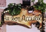 Location vacances La Vancelle - Au Bon Accueil Le Coquelicot-2