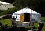 Location vacances Laprugne - Le Moulin Gitenay - Yourte-4