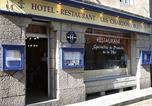 Hôtel Plouescat - Logis Hôtel Les Chardons Bleus-1