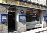 Hôtel Roscoff - Logis Hôtel Les Chardons Bleus-1