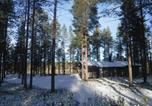 Location vacances Salla - Hakojärvi Log Cottage-4