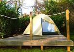 Camping avec Site nature Saint-Rémy-sur-Durolle - Camping L'Orée du Lac-4