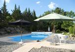 Location vacances Villeneuve-de-Berg - Villa Rive D'ardèche-4