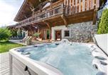 Location vacances Praz-sur-Arly - Chalet de prestige en face des pistes