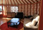 Camping  Acceptant les animaux Canada - Yurts at Wya Point Resort-2
