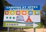Camping en Bord de rivière Aquitaine - Camping d'Auberoche-1