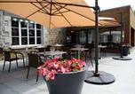Hôtel Saint-Pierre-des-Nids - Logis La Lentillere - Restaurant Côté Parc-4