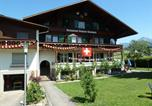 Location vacances Aeschi bei Spiez - Pension Hotel Restaurant Sunnmatt-1