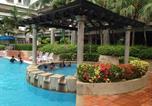Location vacances Melaka - Mahkota Hotel Family Apartment-1