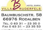 Hôtel Rodalben - Villa Bruderfels, Garni-3
