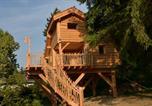 Location vacances Cernex - Cabane Perchée de l'orée des Bornes-2