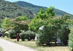 Camping avec Hébergements insolites Fenouillet - Camping Les Cerisiers du Jaur-4