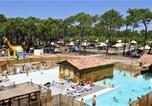 Camping avec Spa & balnéo Vielle-Saint-Girons - Domaine Résidentiel de Plein Air Les Tourterelles-1