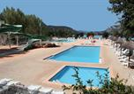 Camping avec Ambiance club Montclar - Camping Du Lac-4
