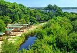 Camping avec Parc aquatique / toboggans Cazaubon - Le Col Vert-1