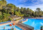 Camping avec Parc aquatique / toboggans Antibes - Holiday Green-1