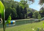 Camping avec Parc aquatique / toboggans Rives - Le Moulin de David-4