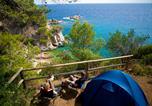 Camping avec Accès direct plage Espagne - Cala Llevadó-2