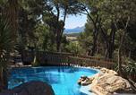 Camping avec Parc aquatique / toboggans Laroque-des-Albères - Castell Montgri-4