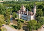 Camping avec Piscine couverte / chauffée Gaugeac - Château de Fonrives-2