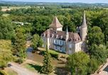 Camping avec Piscine Gaugeac - Château de Fonrives-2