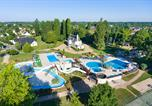 Camping avec Parc aquatique / toboggans Mesland - Château des Marais-3