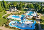 Camping avec Parc aquatique / toboggans Mesland - Château des Marais-1