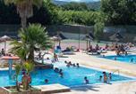 Camping avec Parc aquatique / toboggans Menton - L'Argentière-3