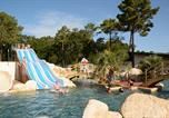 Camping avec Quartiers VIP / Premium Naujac-sur-Mer - L'Orée du Bois-3