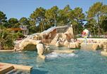 Camping avec Quartiers VIP / Premium Naujac-sur-Mer - L'Orée du Bois-4