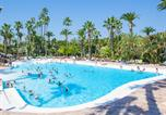 Camping avec Ambiance club Antibes - La Baume-1