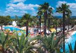 Camping avec Ambiance club Antibes - La Baume-3