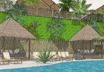 Camping avec Ambiance club Antibes - La Pierre Verte-1